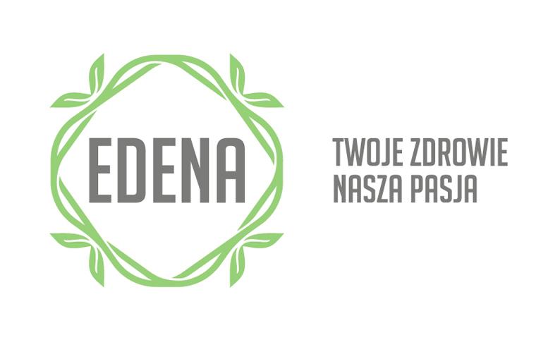 EDENA + haslo ZIELONY